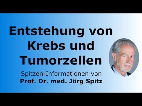 Entstehung von Krebs und Tumorzellen - Prof. Dr. med. Jörg Spitz - Spitzen-Informationen