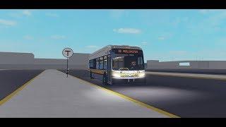 ROBLOX MBTA - Driving a Xcelsior bus!