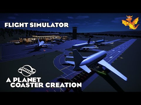 Planet Coaster - Flight Simulator |