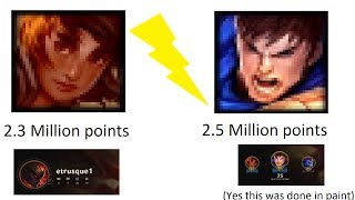 Playing with the highest mastery point Garen / Taliyah in the world
