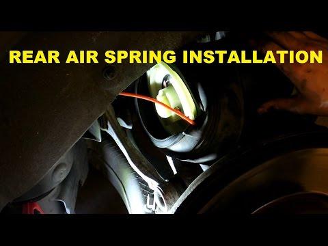 BMW E70 X5 Rear Air Spring Replacement DIY