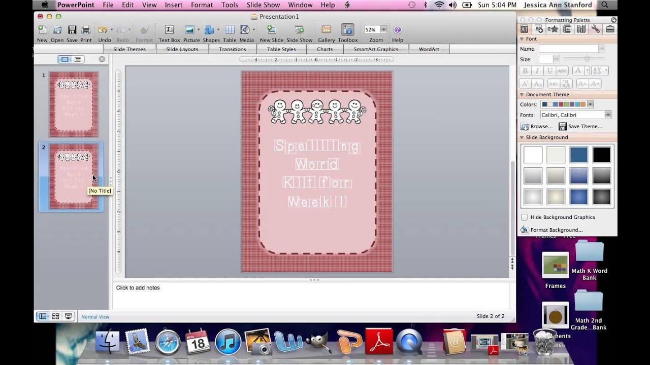 Creating a TeachersPayTeachers Product in PowerPoint - YouTube