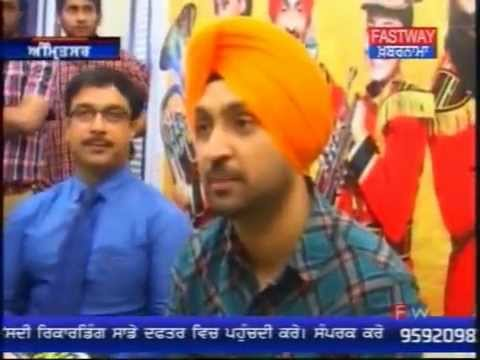 TV NEWS - Fastway - DISCO SINGH - Amritsar -- Press Conference - Trivani Media