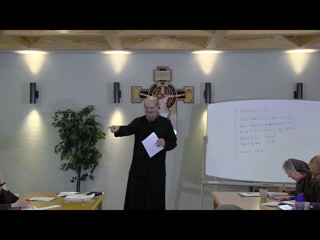 Fr John Behr LPH 2019 Advent Retreat 08 1 On the Incarnation Part 1a