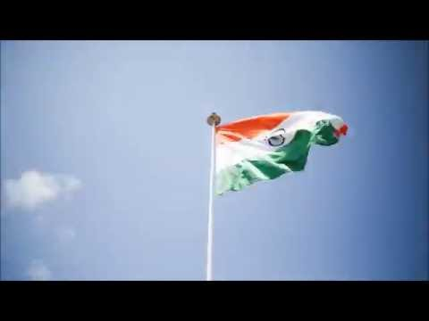 Indian flag Waving timelapse