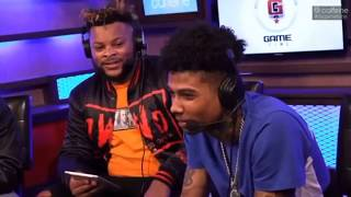 Blueface and The Game Talk Trash in Madden Game Pt. 1 (Gets Intense)