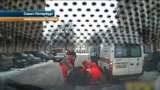 В Петербурге арестовали мужчину, с ножом напавшего на водителя  скорой