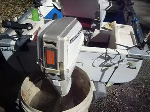 1976 chrysler 6hp outboard youtube for 10 hp outboard jet motor