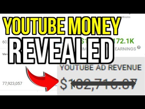 Showing How Much YouTube Pays Me ($100,000+) How Much Money Gaming YouTubers Make (Ads + Sponsors)