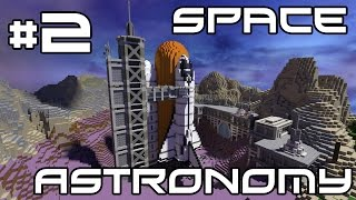 Minecraft Space Astronomy - Punching Grass! #2