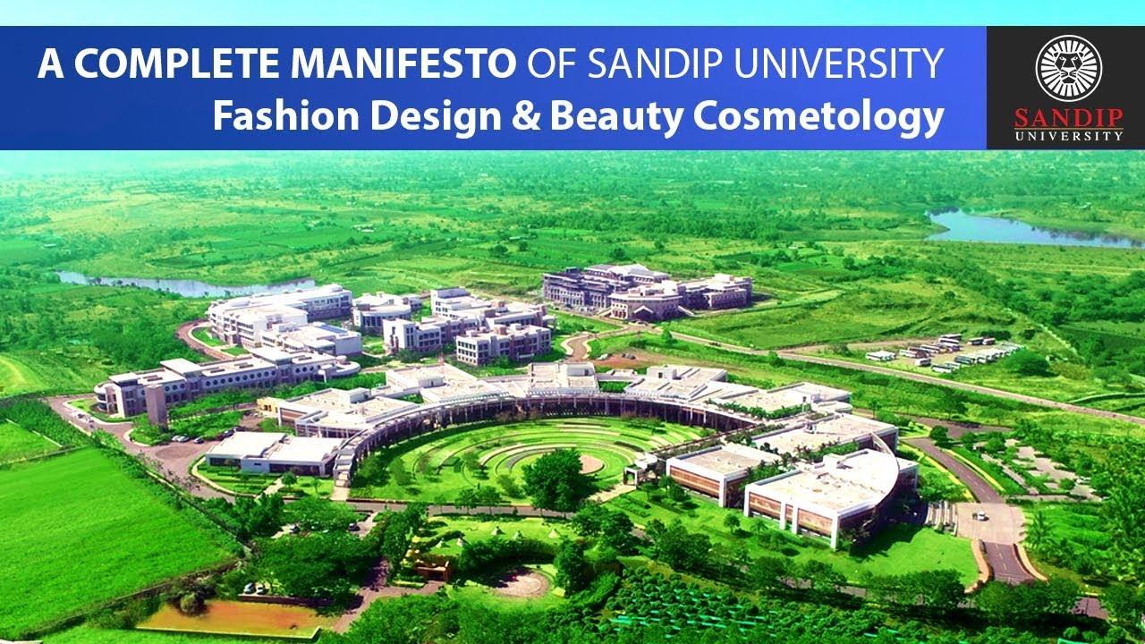 School Of Fashion Design Sandip University 2018 Youtube