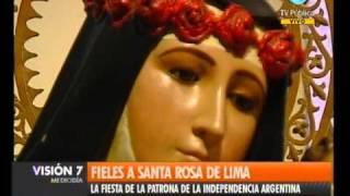 Visión Siete: Fieles a Santa Rosa de Lima