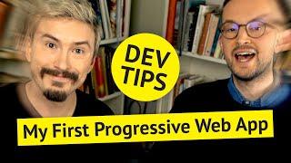 My First Progressive Web App (PWA)
