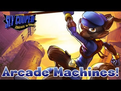 Sly Cooper: Thieves in Time - Arcade Machines!