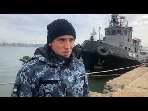 Crimea ⚠ Did Russia Shoot to Kill in Kerch Strait? Exclusive Interview with Ukrainian Sailors! ⚠