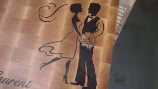 Изготовление свадебной разделочной доски