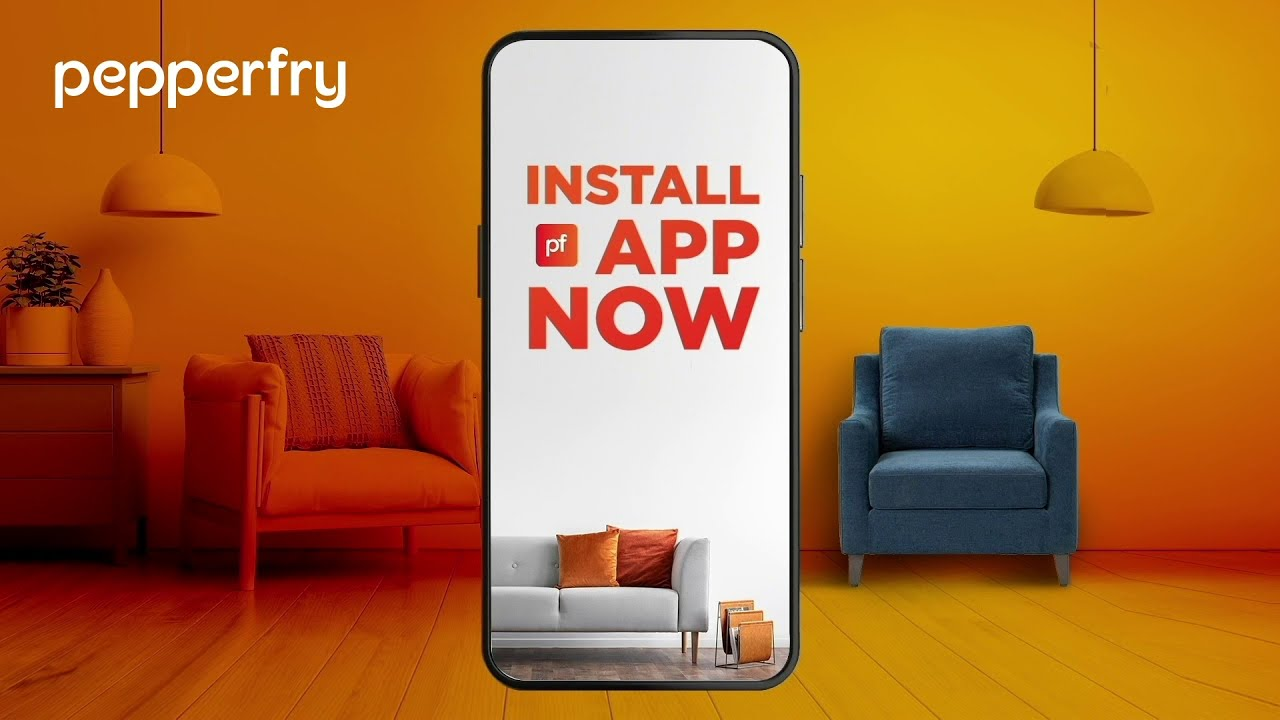 install the pepperfry app today! - youtube