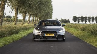 2017 Audi TT-RS Stage 2 500+hp - LAUNCH CONTROL, Revs, Onboard!