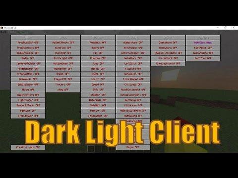 Скачать чит dark light client  4