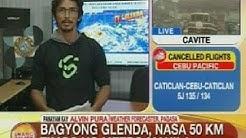 UB: Bagyong Glenda, nasa 50 km timog ng Metro Manila