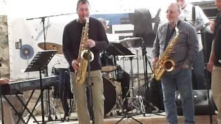 """"""" Cherkasy Jazz Quintet """" & Виктор Никулин  ( 08.09.13 г. )"""