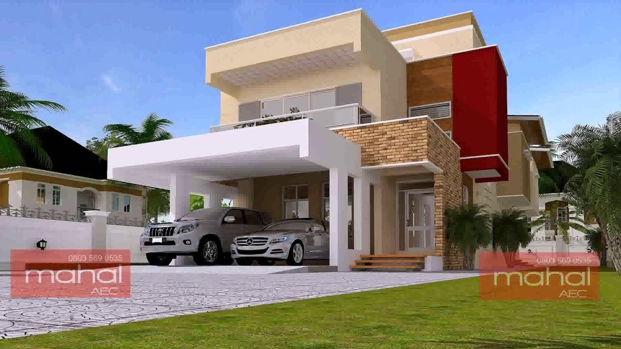 Sample Duplex House Design In Nigeria Youtube