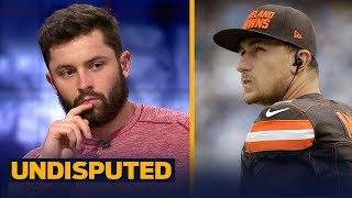 Baker Mayfield on the Johnny Manziel comparisons | NFL | UNDISPUTED
