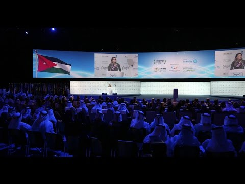 Queen Rania at the 6th World Future Energy Summit