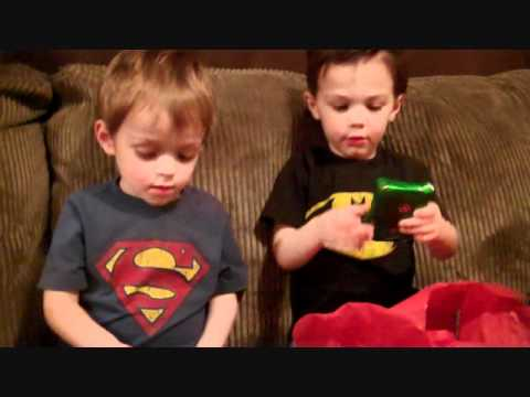 Hey Jimmy Kimmel I gave my twins a crappy gift for Christmas ...