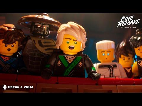 Vlog: LEGO Ninjago La Película | Cine Remake