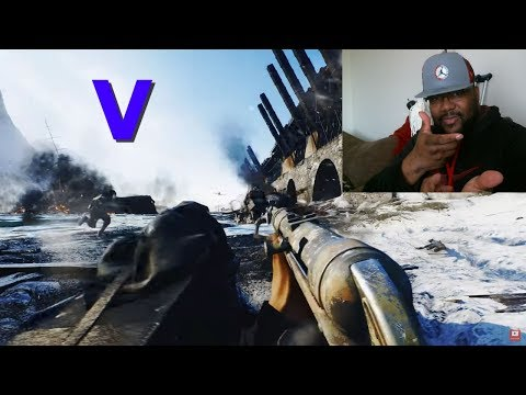 Reaction Battlefield 5 Official Multiplayer Trailer (Battle Royale Announcement)