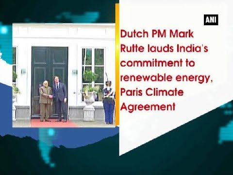 Thumbnail: Dutch PM Mark Rutte lauds India's commitment to renewable energy, Paris Climate Agreement