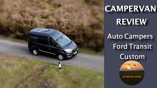 VLOG 7 - Campervan Review - Harry The Ford Transit Custom Auto Campers