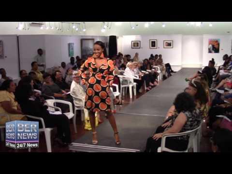 Aura Moniz Jones At Bermuda Fashion Collective, November 3 2016