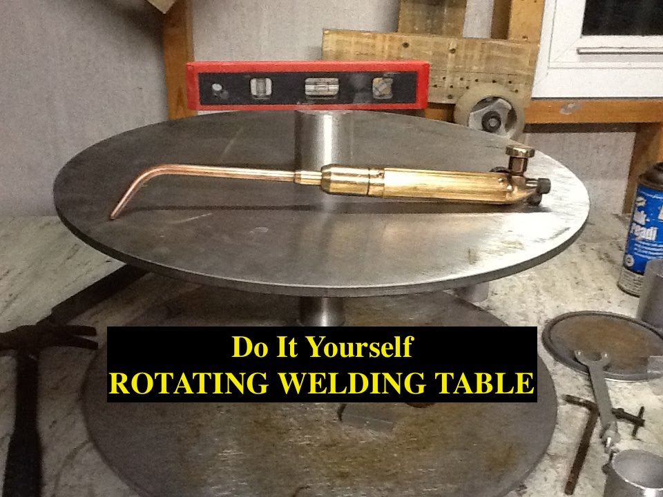 DIY ROTATING WELDING TABLE/POSITIONER   5 HOUR BUILD ($0.00)   YouTube