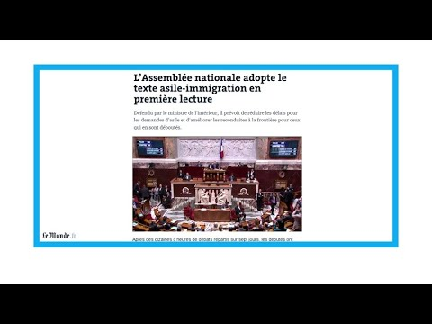 """Loi asile-immigration: """"hystérisation"""" ou """"Bérézina morale""""?"""