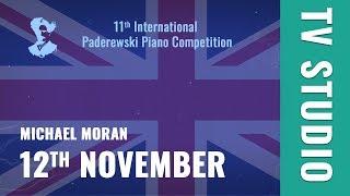 12th November - TV STUDIO (ENG) - Michael Moran / Paderewski Piano Competition
