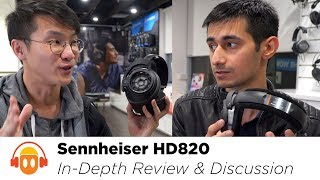 Sennheiser HD820 In-Depth Review: Discussion & Comparison w/ HD800S
