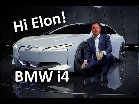 Электромобиль BMW I4!  Чем вдохновлялся Илон Маск создавая Tesla Cybertruck?