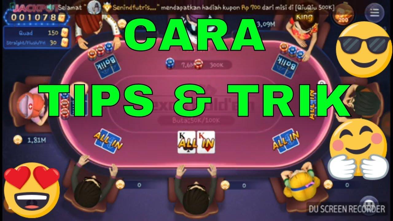 Paragonpoker Cara Bermain Kartu Texas Holdem Poker