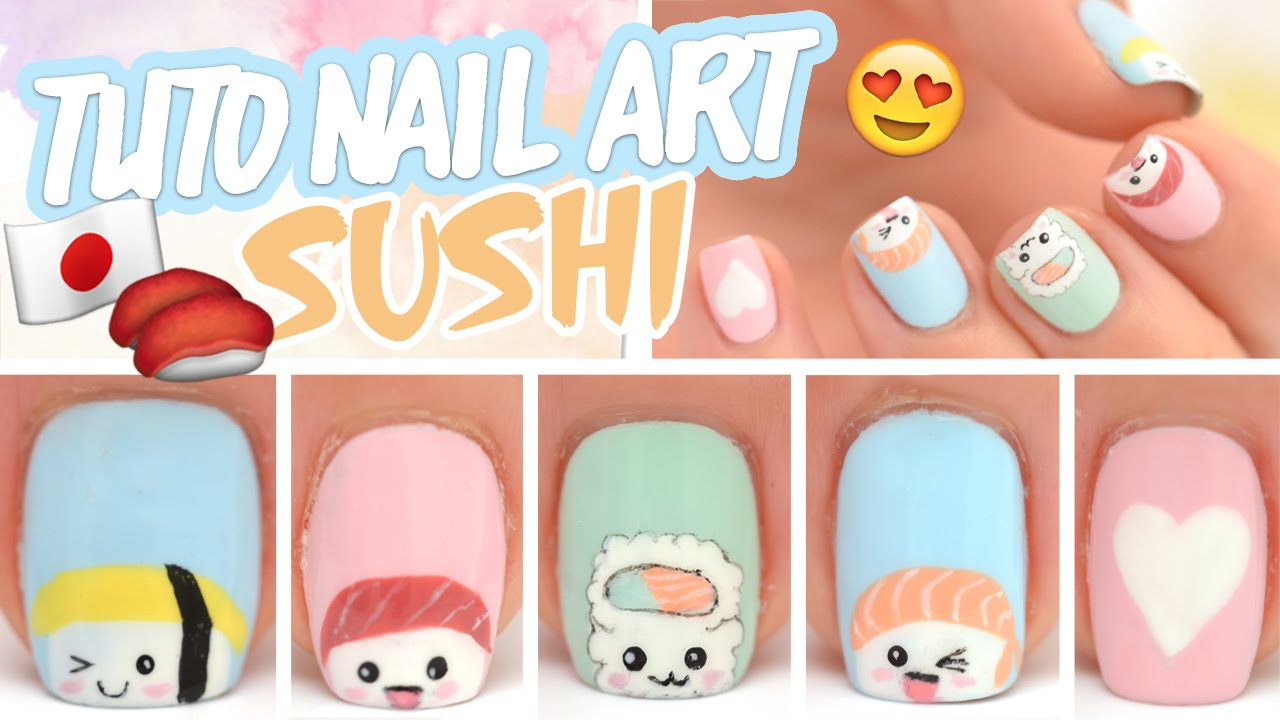 Yoko Nail Art Cute Face: Cute nail designs tumblr.
