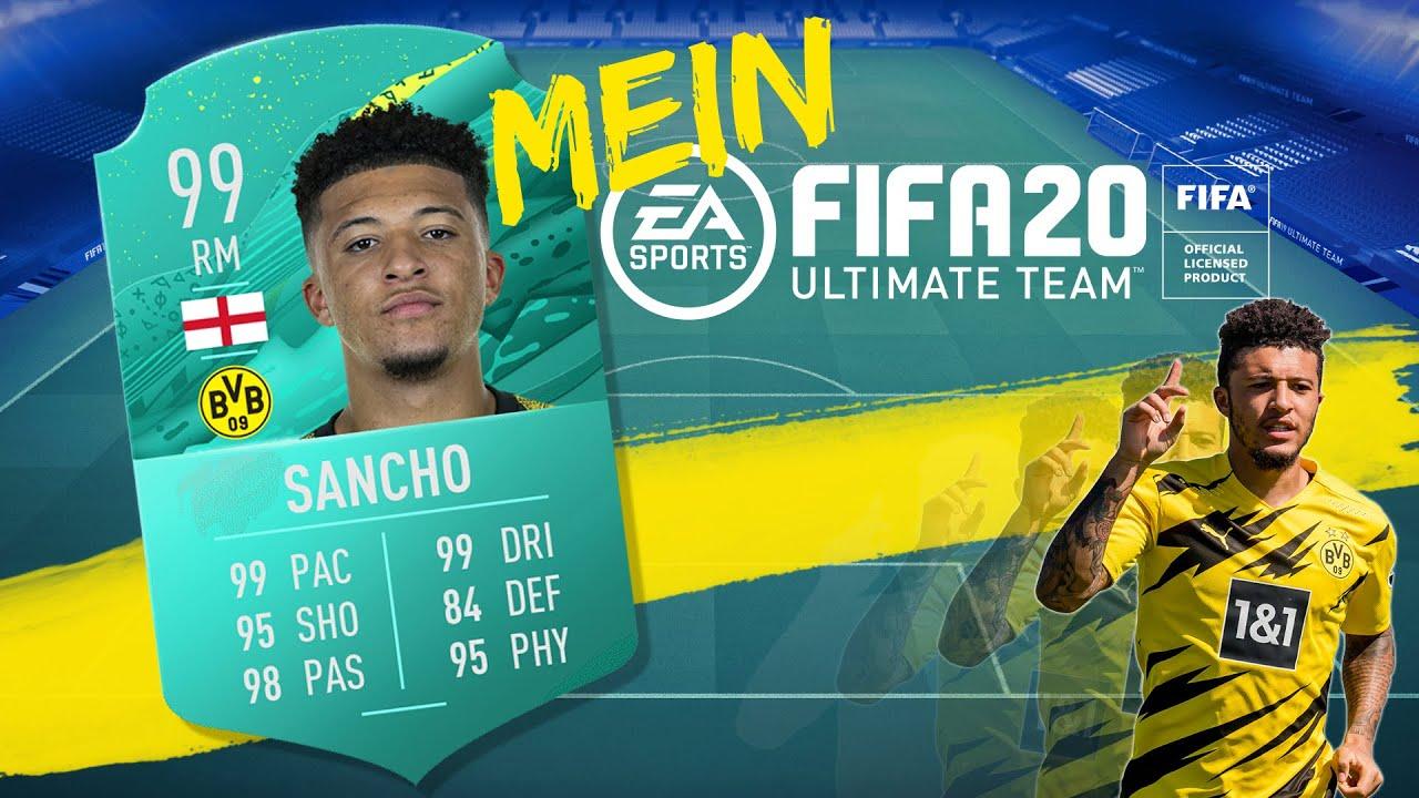 "Jadon Sancho names his FIFA 20 Ultimate Team | ""My FUT"""
