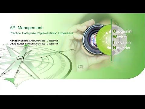 API Management- Practical Enterprise Implementation Experience - YouTube