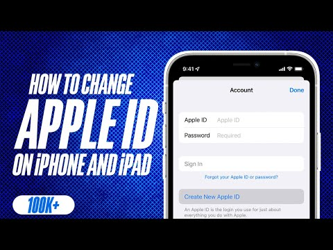 How to change iphone 7 apple id