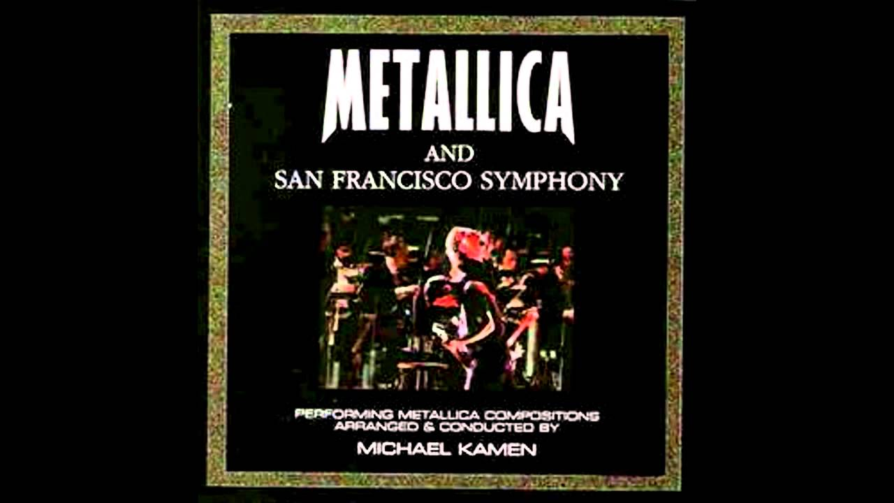 San Francisco Symphony Calendar.Metallica S M Nothing Else Matters Only Orchestra