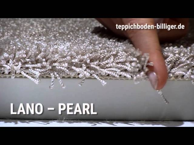 Billiger teppichboden  Lano Pearl pea 850 Zinngrau • Teppichboden günstiger