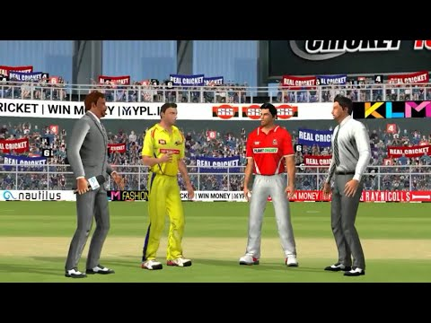 20th May IPL 11 Chennai Super kings Vs Kings XI Punjab Real cricket 2018 mobile Gameplay - 동영상