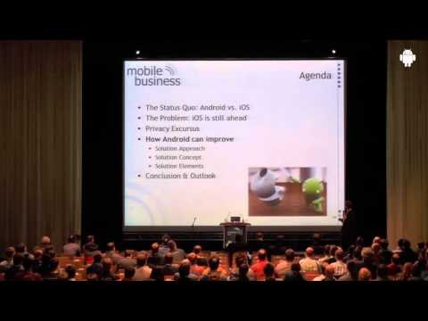 droidcon 2013 - Android and Commercial Success - Prof. Rannenberg, Uni Frankfurt