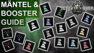 Monster Hunter World: Mantel & Booster Guide (Deutsch/German)
