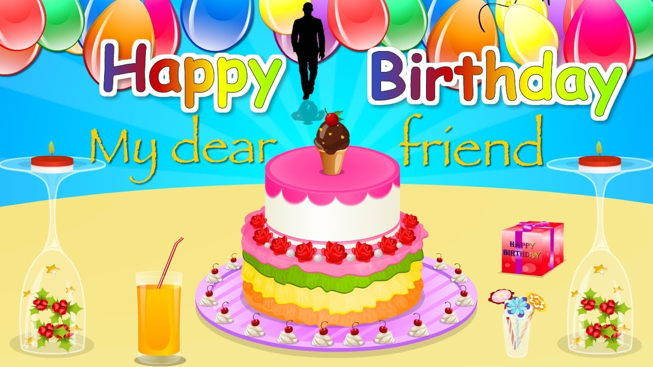 Birthday wishes for Friend HD Happy Birthday E greeting cards – Happy Birthday Email Cards